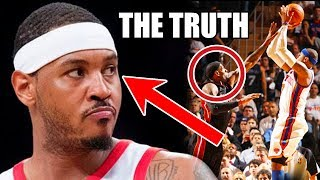 The REAL Reason Why Carmelo Anthony Is NOT In The NBA
