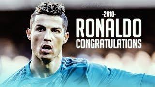 Cristiano Ronaldo 2018 ► Congratulations Ft. Post Malone  - Skills, Tricks & Goals | 1080p HD