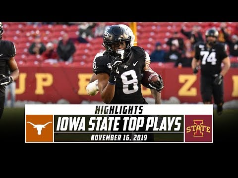 Iowa State Football Highlights vs. No. 19 Texas (2019) | Stadium