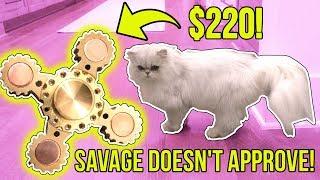 $1 FIDGET SPINNER VS $220 FIDGET SPINNER!!!