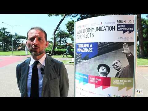 World Communication Forum, Gianni Di Giovanni: comunicazione leva per costruire futuro