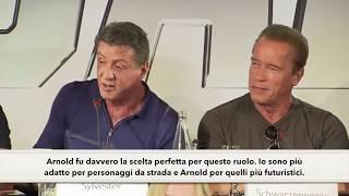 Sylvester Stallone & Arnold Schwarzenegger - The Expendables 3 - Sub ITA - I Mercenari 3 - Interview