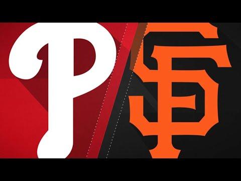 San Francisco Giants vs Philadelphia Phillies