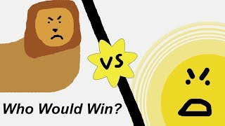 1 Trillion Lions VS Sun: Who Would Win? (Solved With Science)