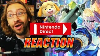 MAX REACTS: Nintendo Direct - Sept 2018 Edition