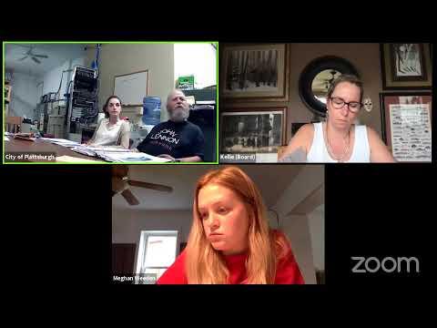 Plattsburgh Zoning Board of Appeals Pre-meeting  6-21-21