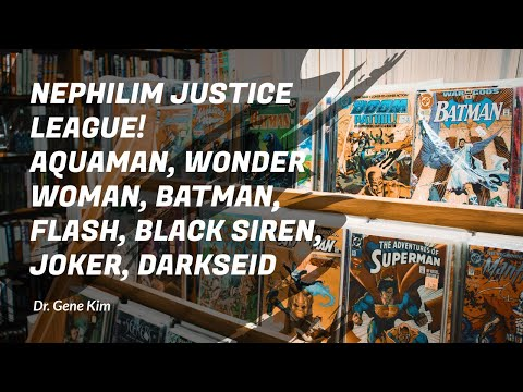 NEPHILIM Justice League! Aquaman, Wonder Woman, Batman, Flash, Black Siren, Joker, Darkseid
