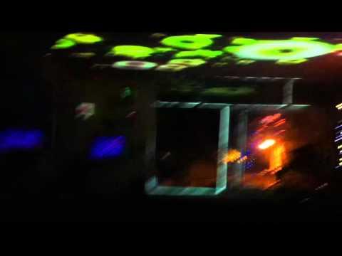 Modul8 + madmapper + MacPro + proyector Sanyo 4000 ansi + DEPARTAMENTO