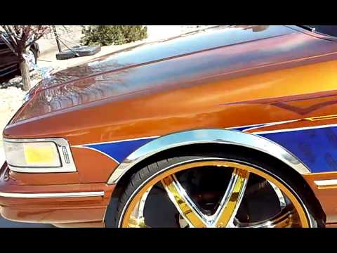 96 Lincoln Towncar On 24s Videomoviles Com