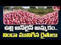 ఉల్లి ఆన్ లైన్ అమ్మకం.. నిండా మునిగిన రైతులు | Kurnool Onion Farmers Struggle | hmtv