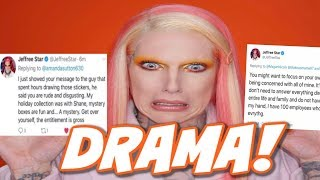 JEFFREE STAR CLAPS BACK AT FANS & DELETES TWEETS!
