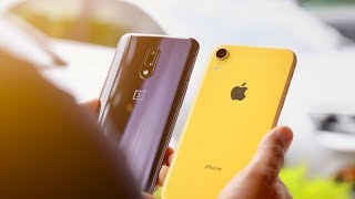 OnePlus 7 vs iPhone XR Detailed Camera Comparison!
