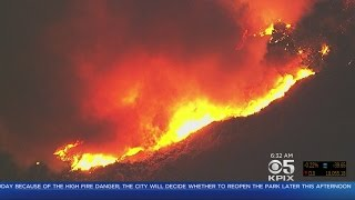 Loma Fire In Santa Cruz Mountains Growing, New Evacuations Ordered