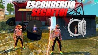 4 ESCONDERIJOS SECRETOS PRA PEGAR MESTRE NO FREE FIRE
