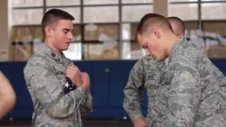 Air Force ROTC; A Day in the Life of a Cadet
