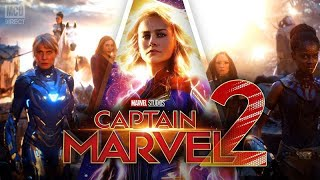 CAPTAIN MARVEL 2 Trailer -Brie Larson(HD) 1080p