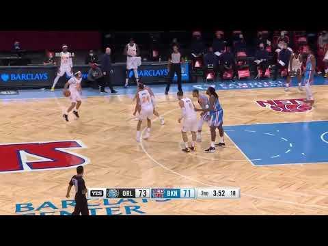 籃網vs魔術 例行賽 Highlights   2020 21 NBA Season