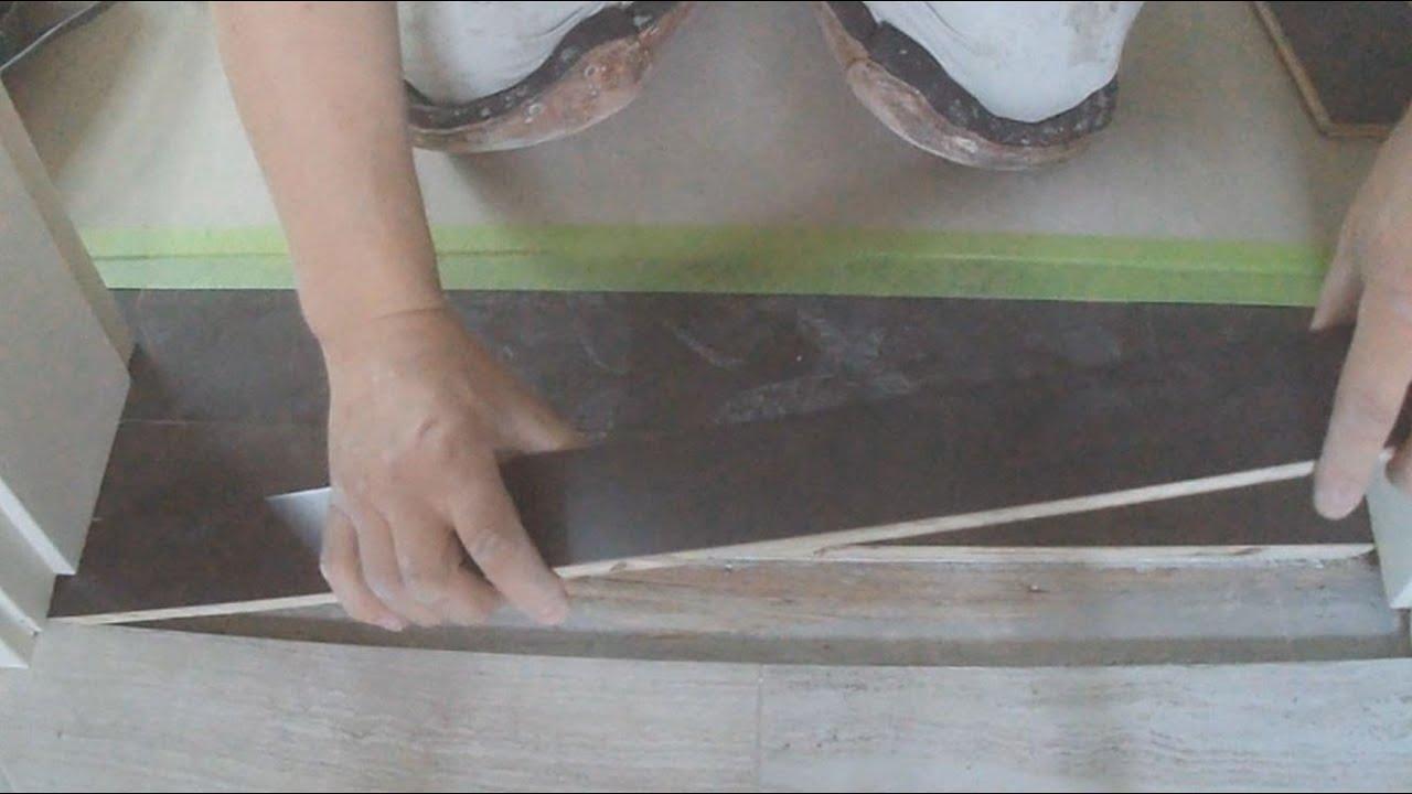 Transitioning Hardwood Flooring Between Rooms Part 2 Youtube