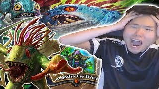 ENDLESS Murlocs With QUEST SHAMAN | SHUDDERWOCK | THE WITCHWOOD | HEARTHSTONE | DISGUISED TOAST