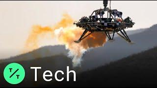 China concluye prueba de aterrizaje para la primera misión a Marte en 2020