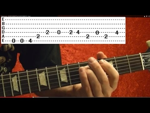 EASY! JUDAS PRIEST - BREAKING THE LAW - How to Play - Free Online Guitar Lessons With Tabs