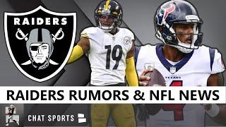 Raiders Rumors: Sign JuJu Smith-Schuster In 2021 NFL Free Agency? Deshaun Watson Trade Latest