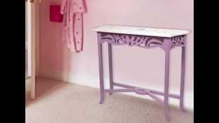 Peinture meuble pour enfants effet princesse de lib ron - Peinture effet blanchi ...