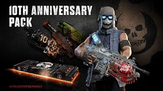 Gears of War celebrating its tenth anniversary