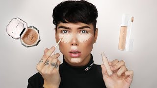 THE TRUTH ABOUT THE FENTY PRO FILT'R CONCEALER + POWDER... Review & Wear Test!