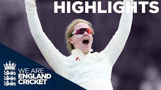 England v Australia Kia Women's Test Match | Day 1 Highlights | The Women's Ashes 2019