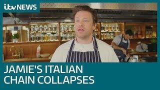 Jamie Oliver's UK restaurant empire collapses | ITV News