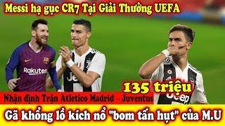 """🔥Tin Chuyển Nhượng 10/8: Messi Hạ Gục Ronaldo Tại UEFA - Gã khổng lồ kích nổ """"bom tấn hụt"""" của M.U"""