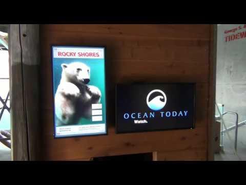 Utah's Hogle Zoo Sign Installation