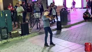 The Best Violin Street Performer (Karolina Protsenko) - Faded (Alan Walker)