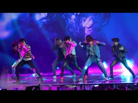 180520 BTS(방탄소년단) Fake Love Full Performance @ BBMAs 2018 Fancam 4K