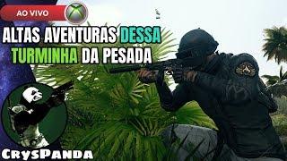 PUBG XBOX ONE AO VIVO - ALTAS AVENTURAS DESSA TURMINHA DA PESADA ! XBOX ONE X