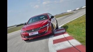 Peugeot 508 - Test on track NAVAK