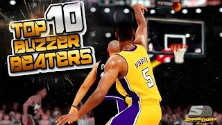 NBA 2K19 Top 10 BUZZER BEATERS Of The Week #36 Clutch Shots Highlights
