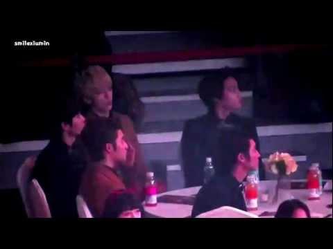 130131 EXO-K reaction to SHINee Sherlock