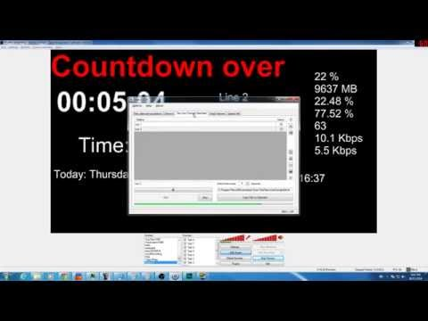 OBS: Adding countdowns, viewers & dates to Open Broadcaster Software
