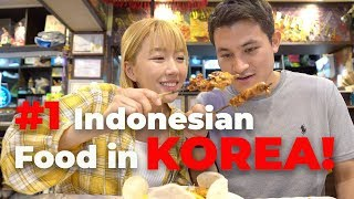 Eating At The BEST Indonesian Restaurant In Korea IS IT AUTHENTIC?