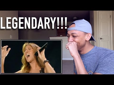 Reacting to 10 Times Céline Dion's Vocals had me Shook!