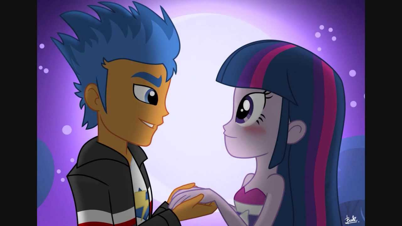 Flash Sentry X Twilight Sparkle Let Her Go Youtube
