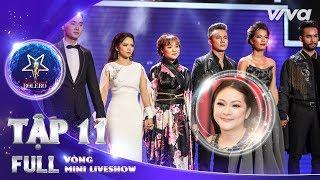 """Thần Tượng Bolero 2018 Tập 11 Full HD - Vòng Mini Liveshow: Team Như Quỳnh sống trong """"Nỗi cô đơn"""""""