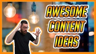 How To Find Content Ideas For Videos Blogs  and Social Media