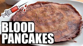 BLOOD PANCAKES Blodplättar   Around the World Breakfast   SWEDEN