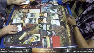 (Full) Game of Thrones: The Card Game 2nd Edition - Kingslayer Finals - GenCon 2015