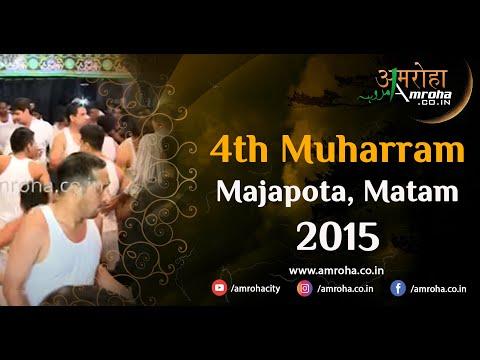Amroha Marsiya-4th muharram 2015-majapota-amroha