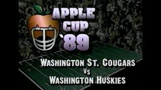 1989 Apple Cup