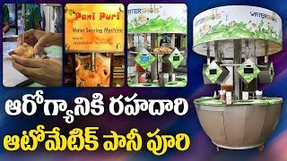 Take a look at semi automatic Pani-Puri Vending Machine..